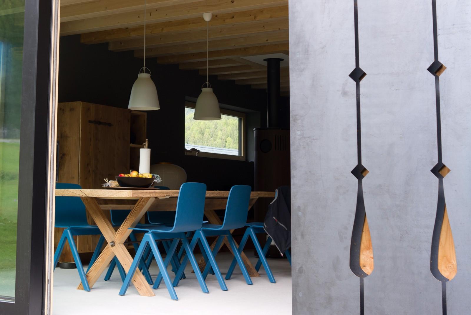 Tisch «Fuldera» aus Altholz