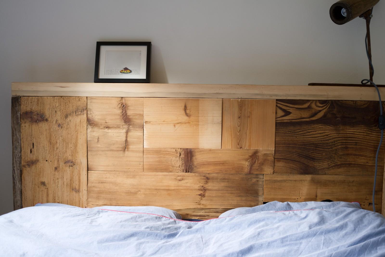 manum m bel aus altholz bett gl na aus altholz. Black Bedroom Furniture Sets. Home Design Ideas