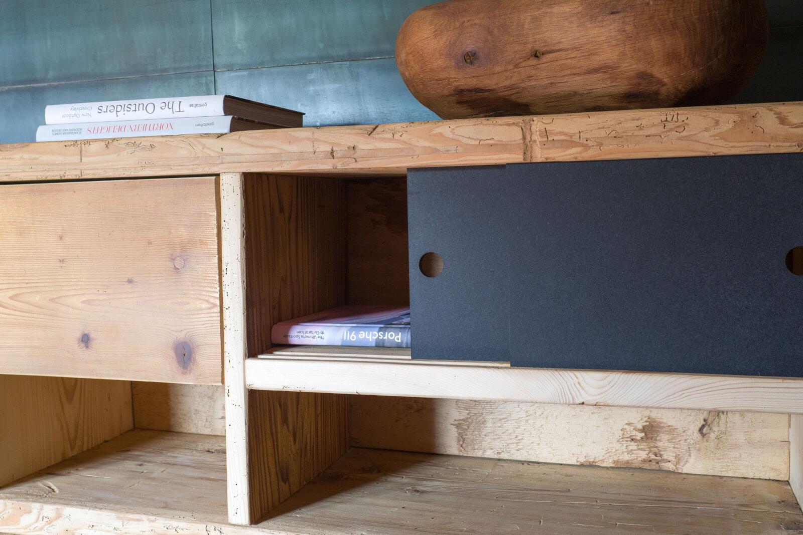 Manum Mobel Aus Altholz Tv Mobel Kleines Sideboard Aus Altholz